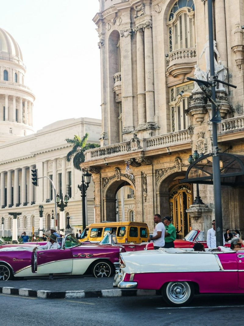 Oldtimeri na Kubi