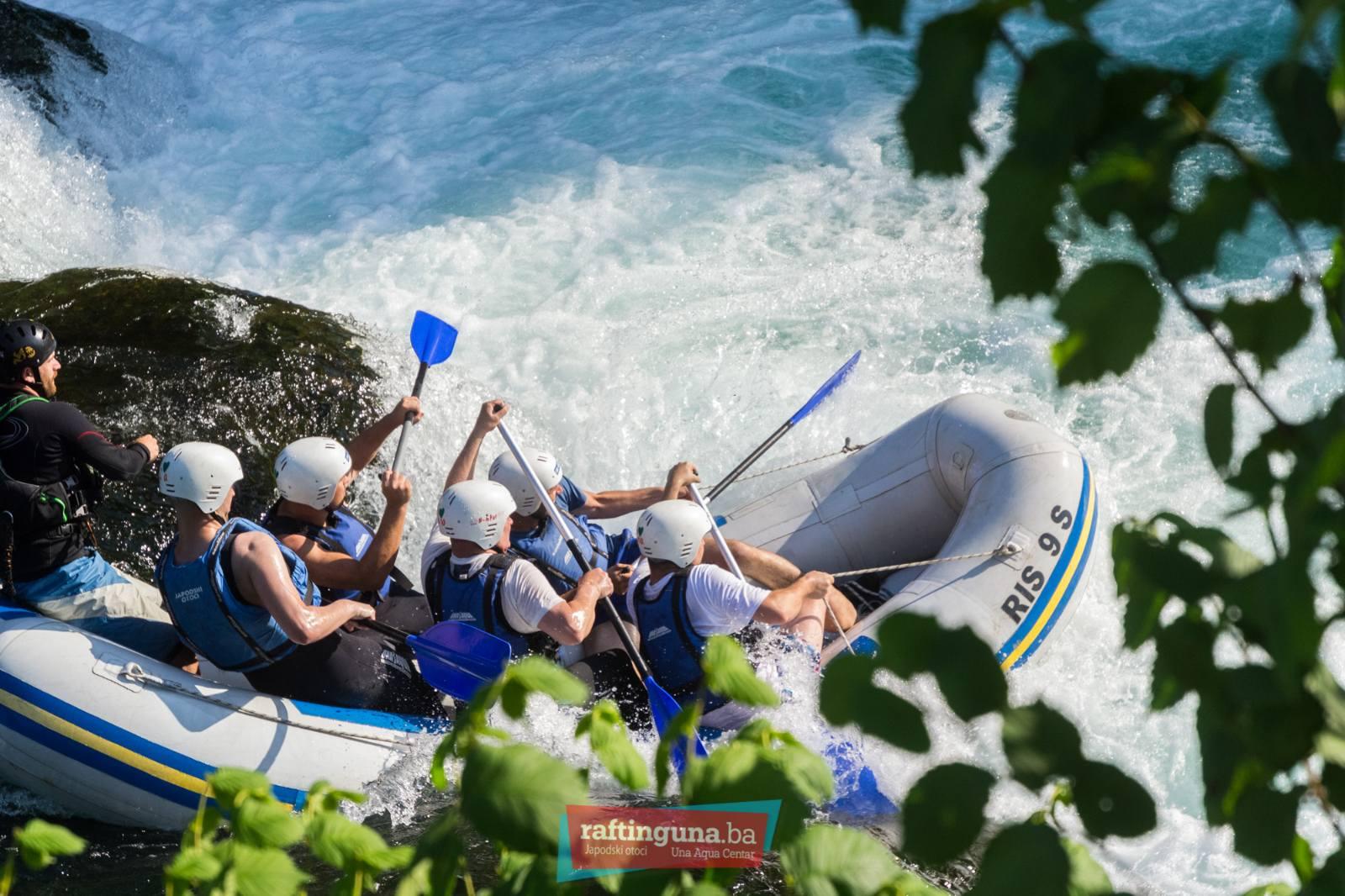 rafting Una