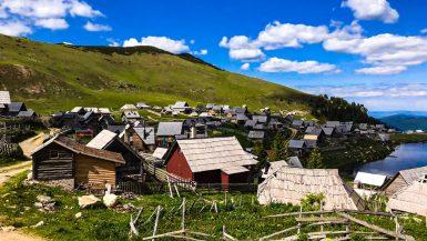 Prokoško jezero panorama