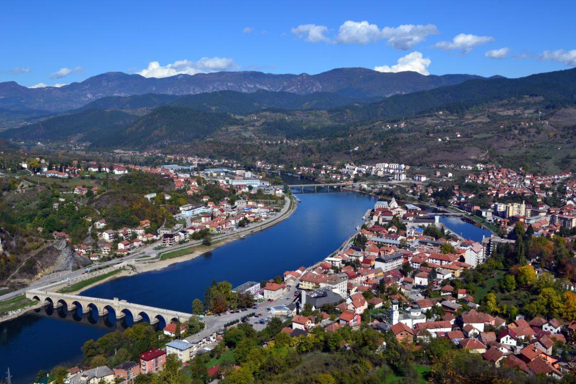 Panorama Višegrada