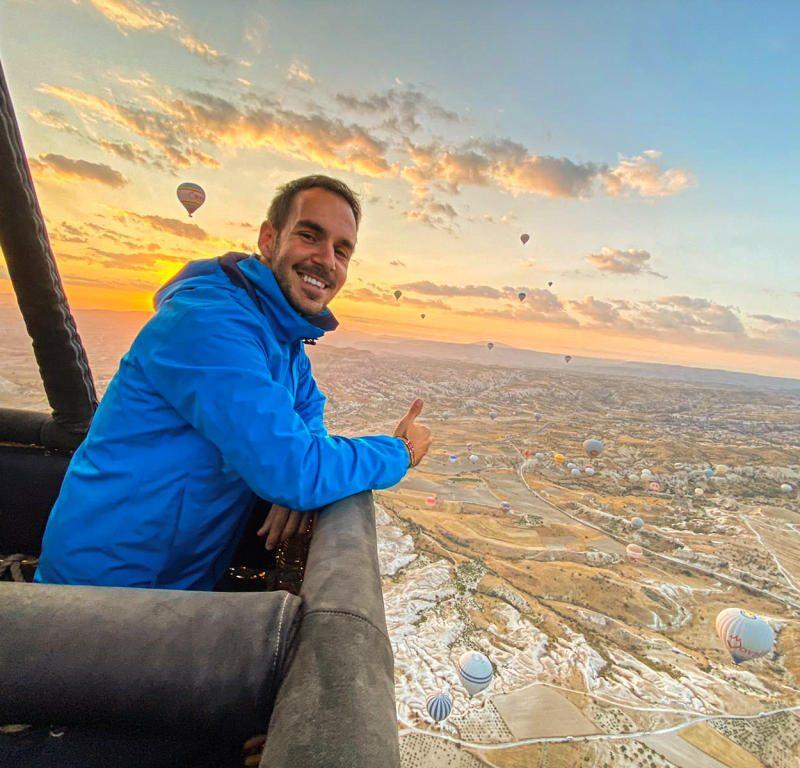 Vožnja balonom u Kapadokiji