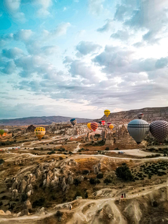 panorama Kapadokije