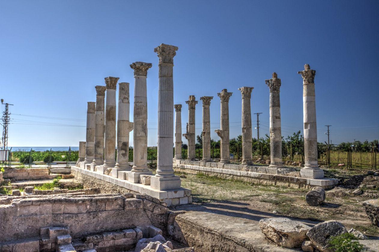 soli pompeiopolis arehološki lokalitet