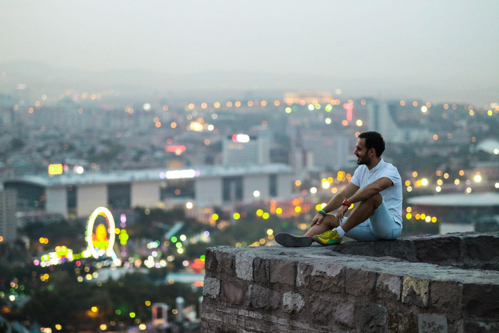 Ankara pogled na grad