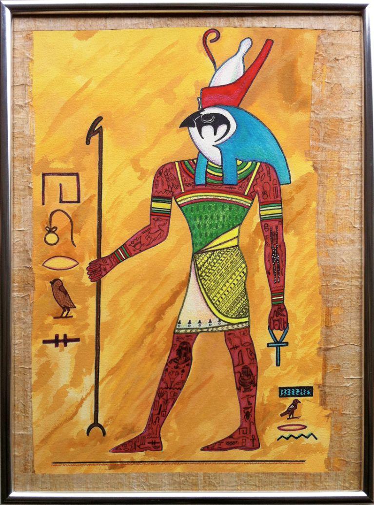 Horus Egipatski bog