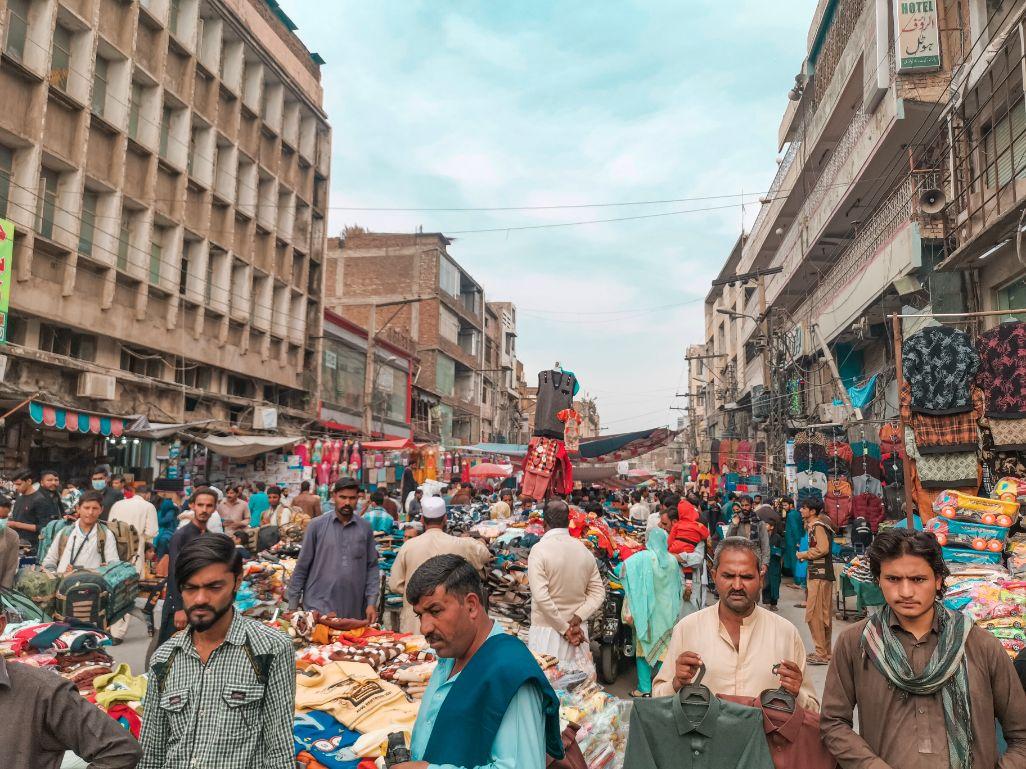 Pakistan populacija