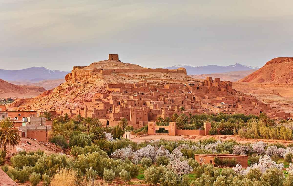 Ait Ben Haddou Maroko grada