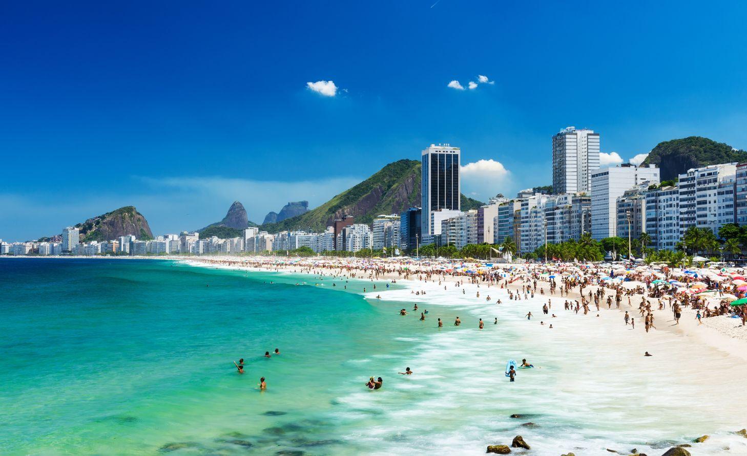 Kopakabana plaža Rio