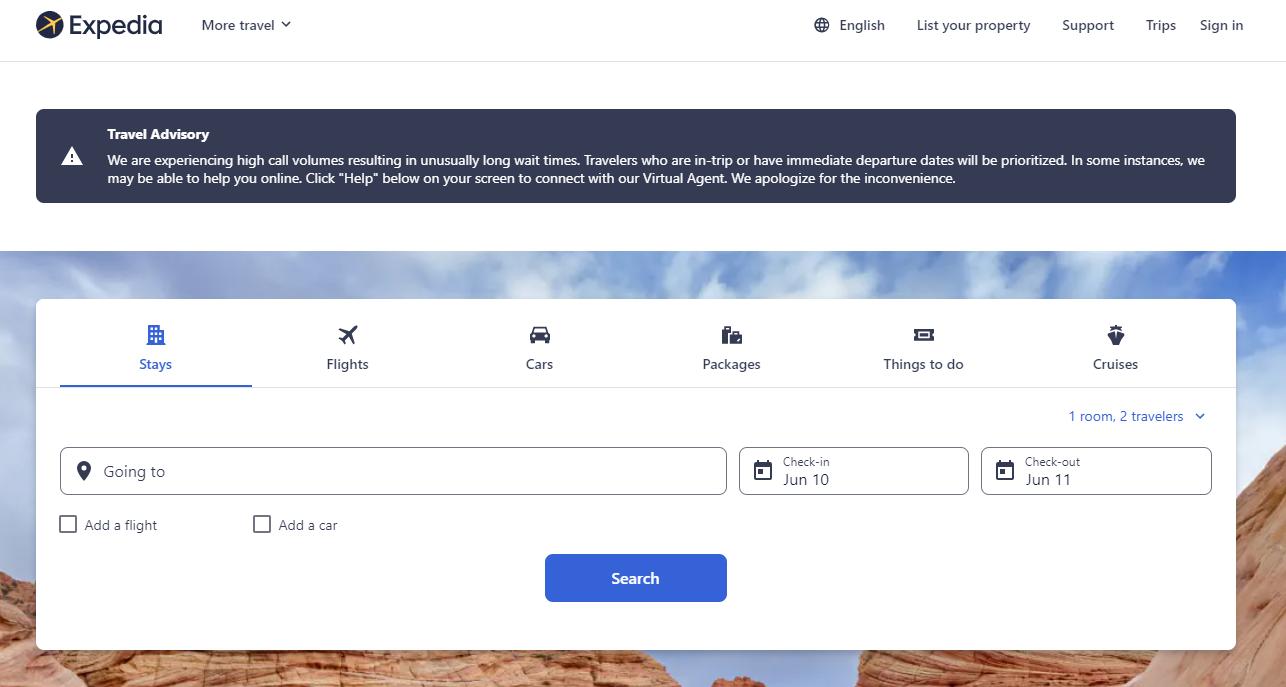 expedia sajt jeftini letovi