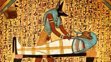 Anubis balzamovanje