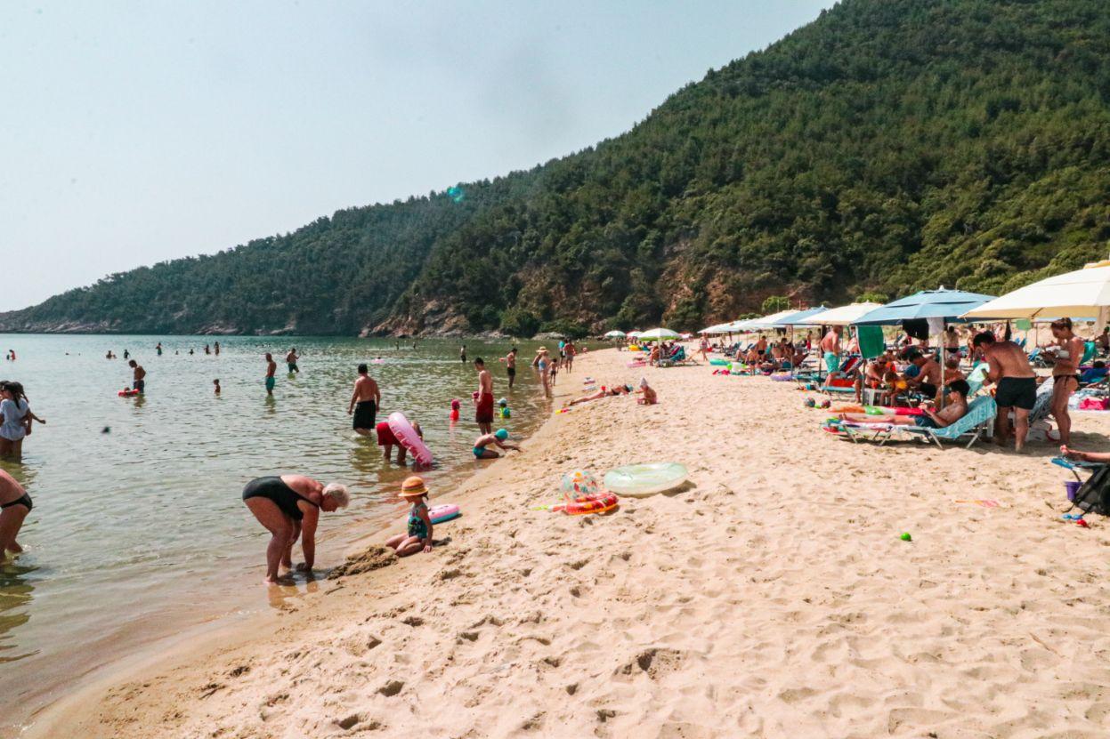 Rajska plaža Tasos