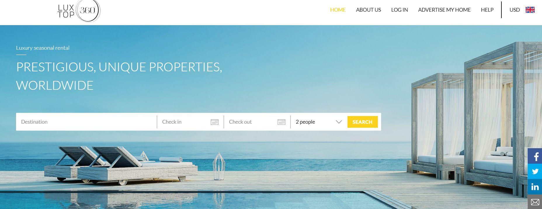 Luxtop sajt za smještaj